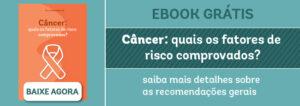 Banner de divulgação do ebook sobre câncer